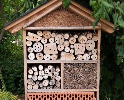 eksempel insektshotell horisontalt bilde